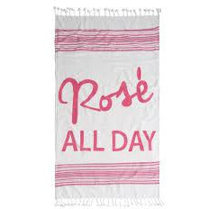 Rose All Day Beach Blanket w/Tote