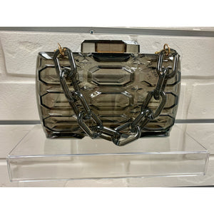 Clear Smokey Purse