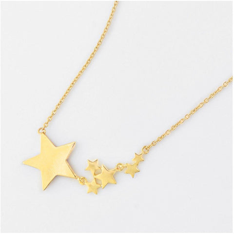 Gold Stardust Necklace