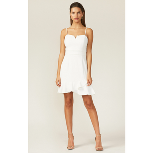 White Charli Mini Dress