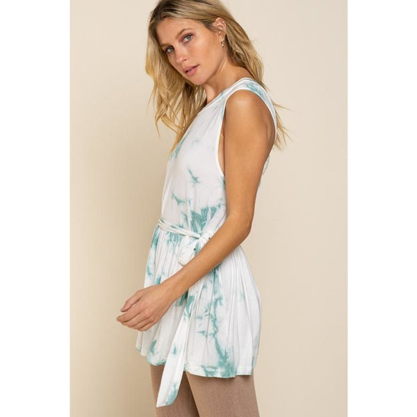 Tie Dye Swing Dress