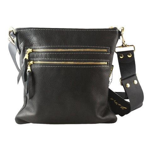 The Soft Franklin Bag in Black