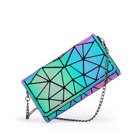 LOVEVOOK Mini Clutch Crossbody Bag Purse with Rivets with Chain Sling Strap