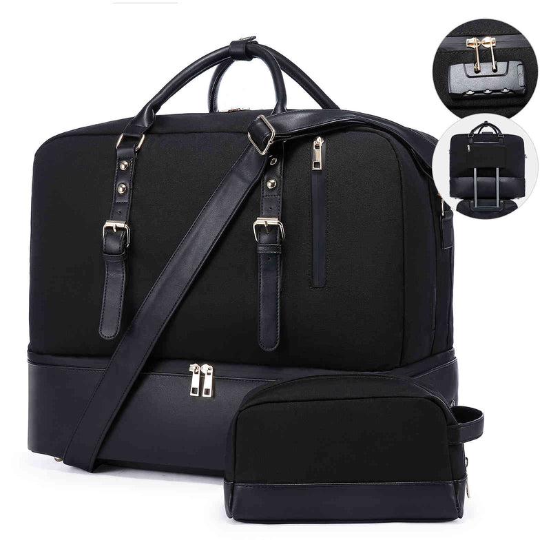 LOVEVOOK Geometric Luminous Trifold Wallet Purse Holographic Reflective Effect