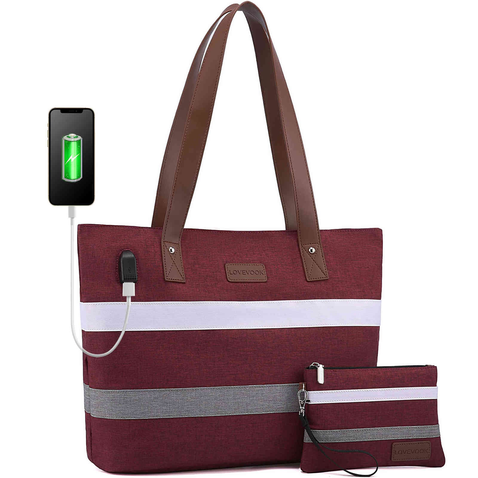 LOVEVOOK Women Laptop Bags for Office Work