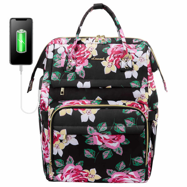 LOVEVOOK Laptop Backpack Cute Laptop Bag for Women
