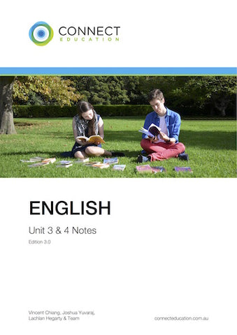 VCE Unit 3 and 4 English Notes