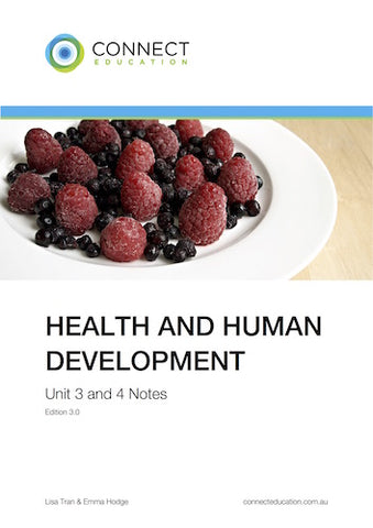 VCE Unit 3 and 4 Health & Human Development Notes