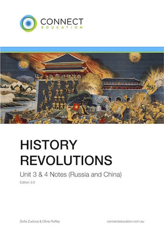 VCE Unit 3 and 4 History: Revolutions (China & Russia) Notes
