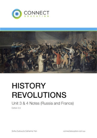 VCE Unit 3 and 4 History: Revolutions (France & Russia) Notes
