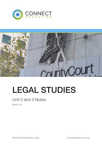 VCE Unit 3 and 4 Legal Studies Notes