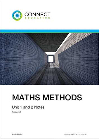 VCE Unit 1 and 2 Maths Methods Notes
