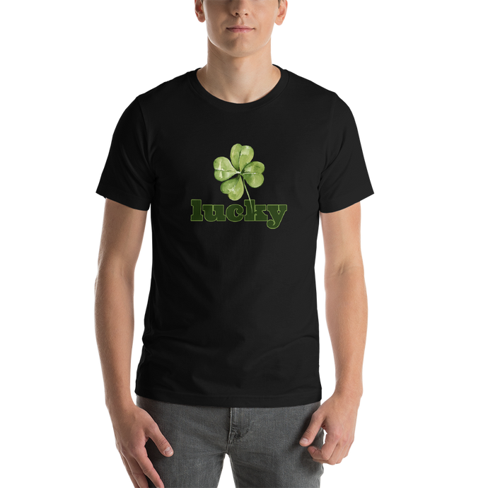 Lucky - Short Sleeve Unisex T-Shirt