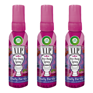 Air Wick V.I.P. Pre-Poop Spray, Fruity Pin-Up, 1.85oz