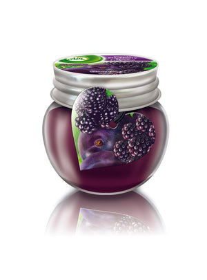 Purple Blackberry Spice Mini-Candle