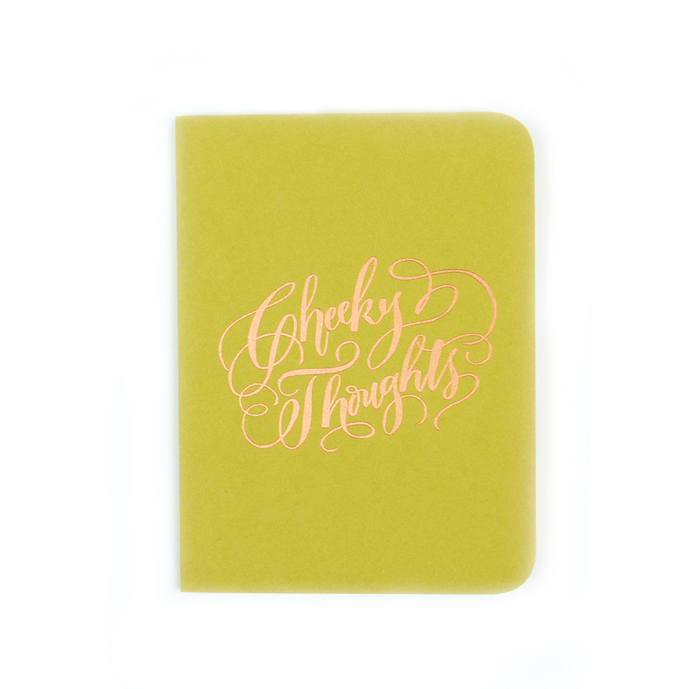 Antiquaria - Cheeky Thoughts Pocket Notebook