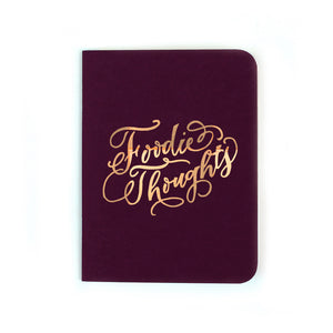Antiquaria - Foodie Thoughts Pocket Notebook