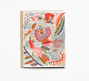 Pen + Pillar - Sparrow Baby Card
