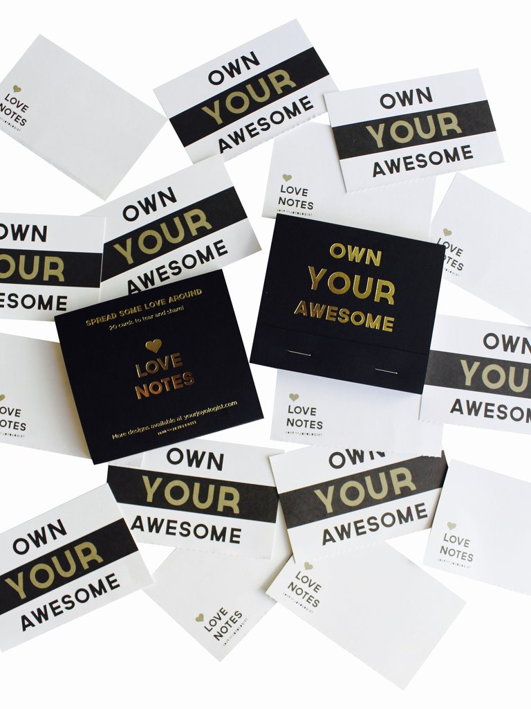 Your Joyologist - Own Your Awesome® Love Notes