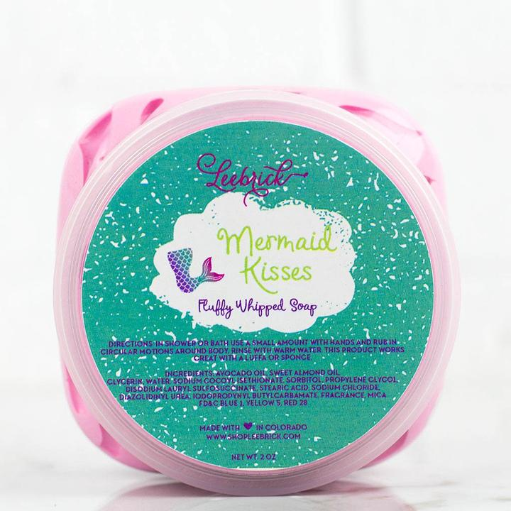 Leebrick - Mermaid Kisses Fluffy Whipped Soap