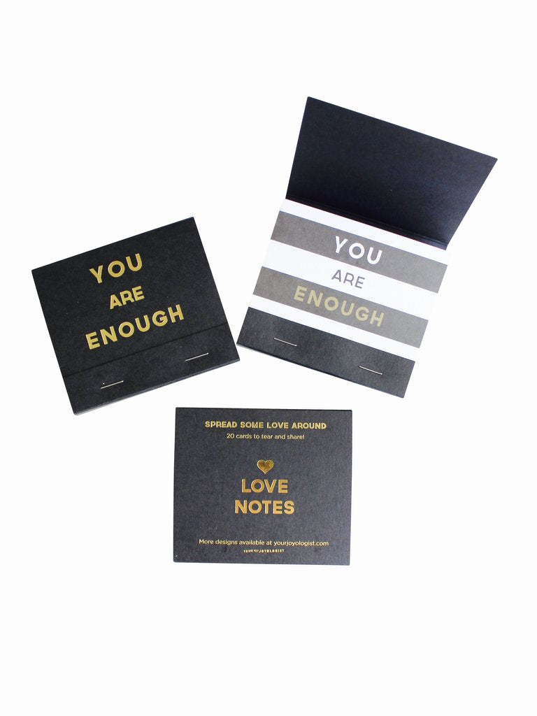 Your Joyologist - You Are Enough Love Notes