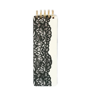Black Lace Spiral Notebook