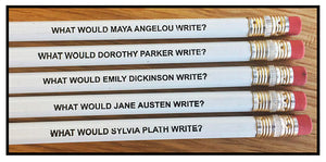 Fly Paper Products - Famous Female Author Pencils