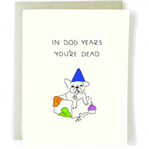 In Dog Years Card