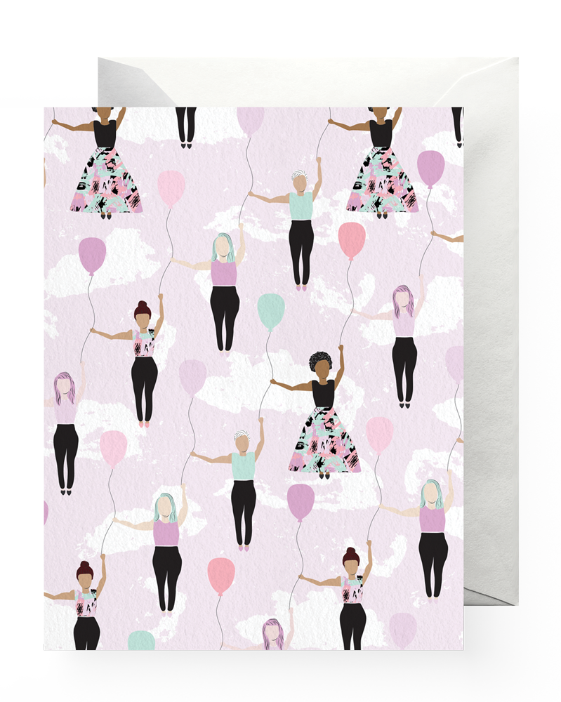 Boss Dotty Paper Co - Girls Rise Up! Card