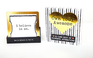 Your Joyologist - Own Your Awesome Affirmation Deck