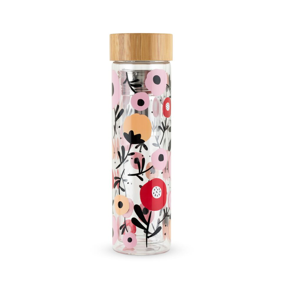 Pinky Up - Blair Glass Travel Infuser Mug