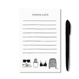 akrDesignStudio - Minima-list Notepad
