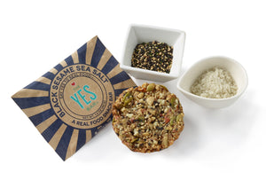The YES Bar - Black Sesame Sea Salt
