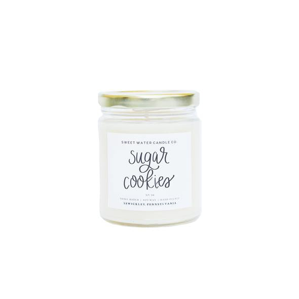 Sweet Water Candle Co. - Sugar Cookies Soy Candle 9oz