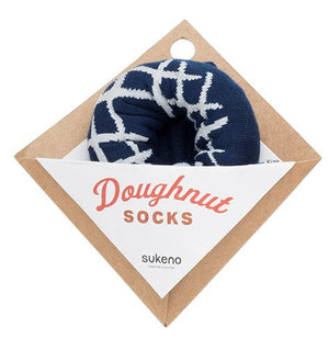 Sukeno - Doughnut Socks - Blueberry Cheesecake