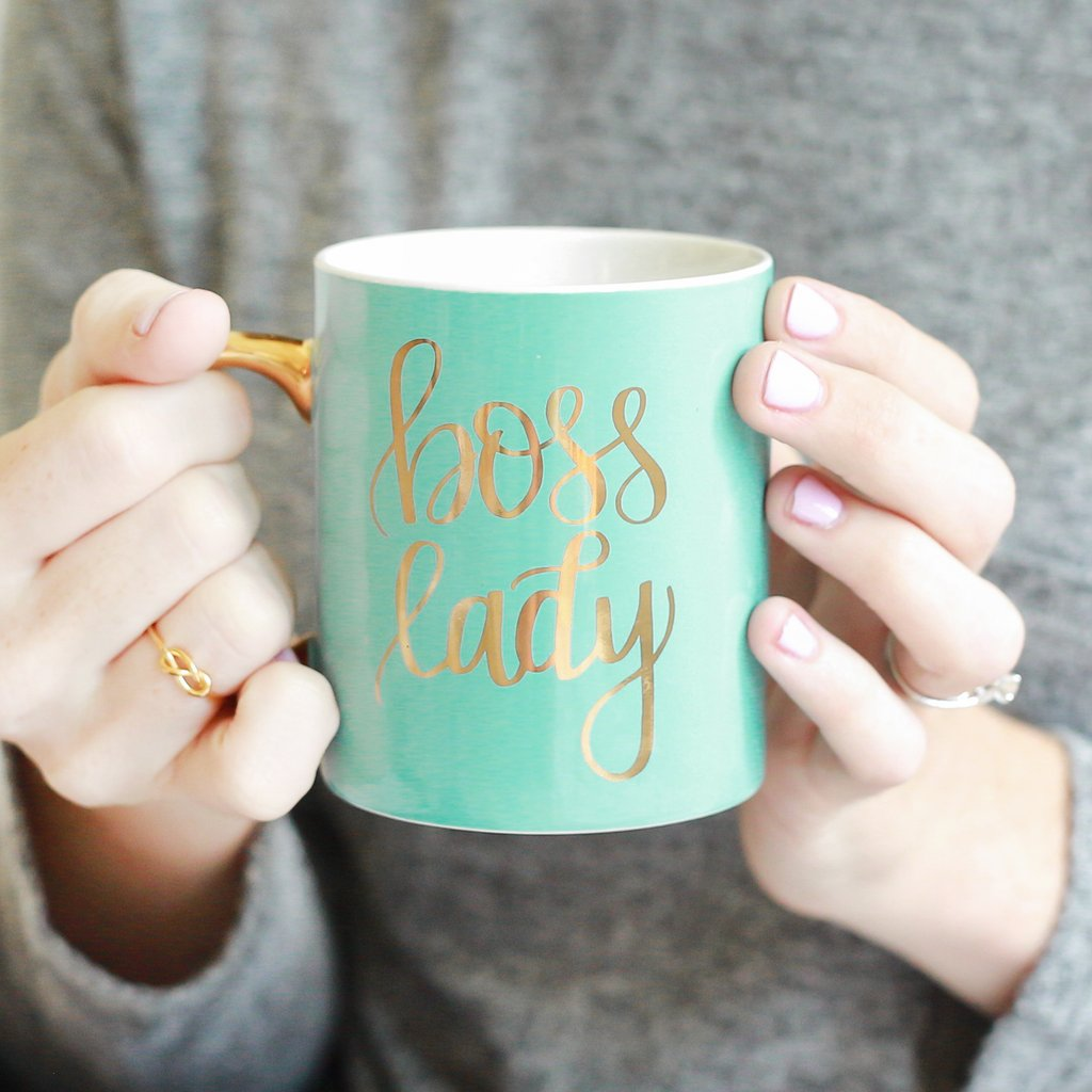 Sweet Water Decor - Mint Boss Lady Coffee Mug