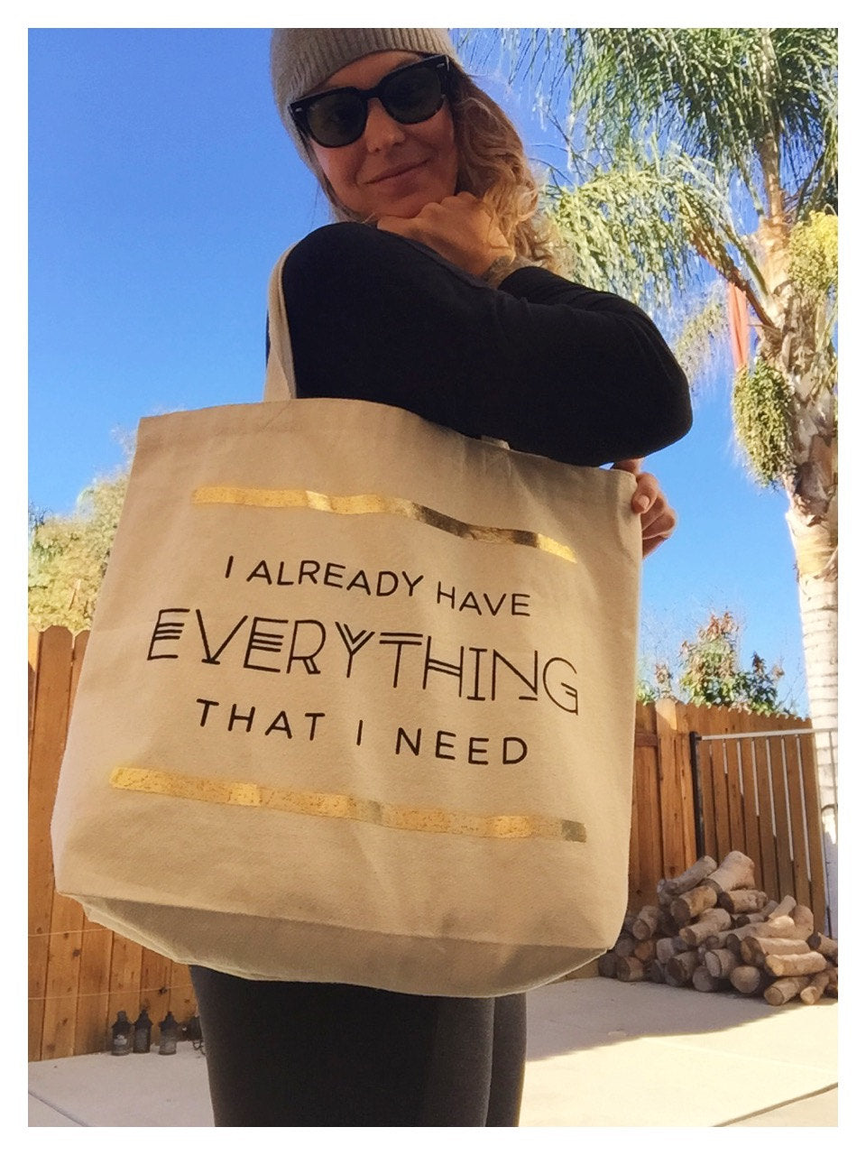 Your Joyologist - I Already Have Everything I Need Tote Bag