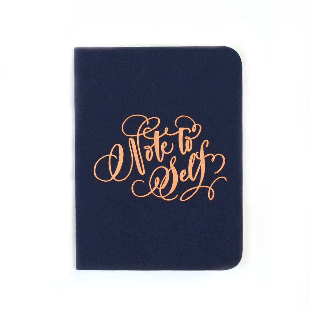 Antiquaria - Note To Self Pocket Notebook