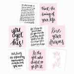 Motivational Greeting Card Assorted Set