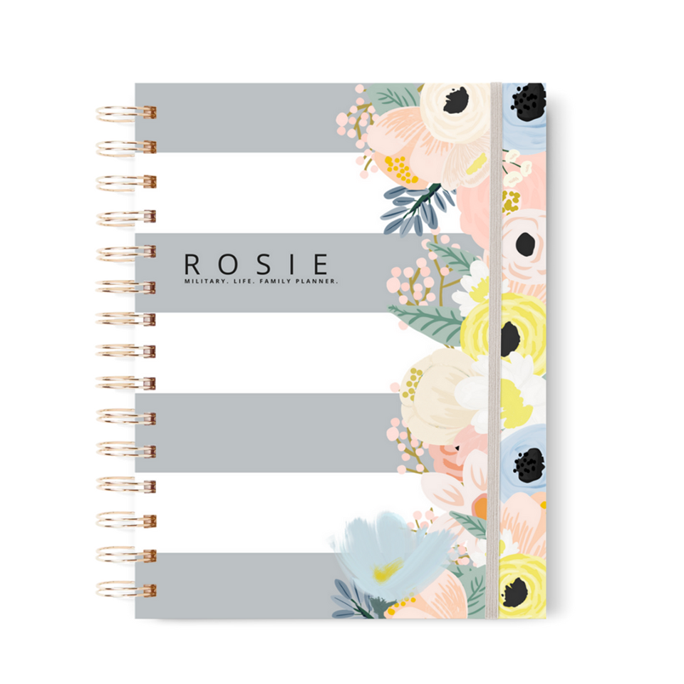 """Mae"" ROSIE Military Lifestyle Floral Planner"
