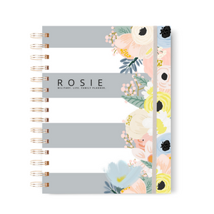 "On Sale ""Mae"" ROSIE Military Lifestyle Floral Planner"