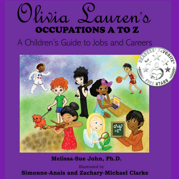 Olivia Lauren's Occupations A To Z: A Guide To Jobs And Careers Book.