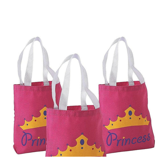 Princess Mini Tote Bags