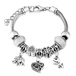 Heart Charm Bracelets For Kids