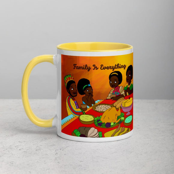 Family Mug with Color Inside