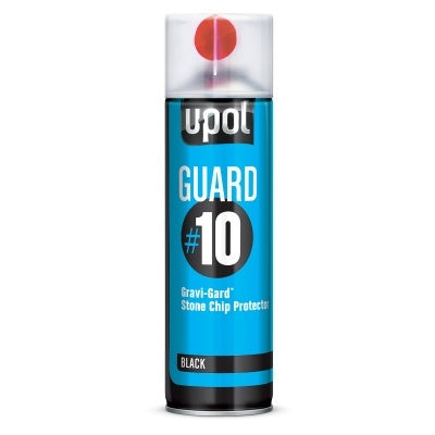 U-POL AEROSOL GRAVIGARD STONE SHIELD BLACK #10 - Colourfast Auto