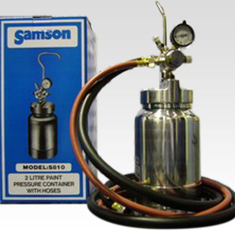 SAMSON S810-K 2LT PRESSURE POT AND HOSE - Colourfast Auto