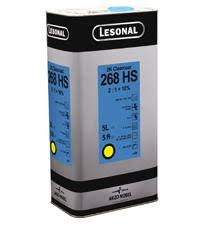 LESONAL 268 HIGH SOLIDS CLEAR 5LT - Colourfast Auto