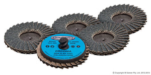 50MM Quicklock Discs (Packet 5) - Colourfast Auto
