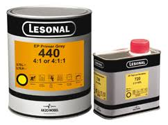 Lesonal 740 Epoxy Hardener 1lt - Colourfast Auto